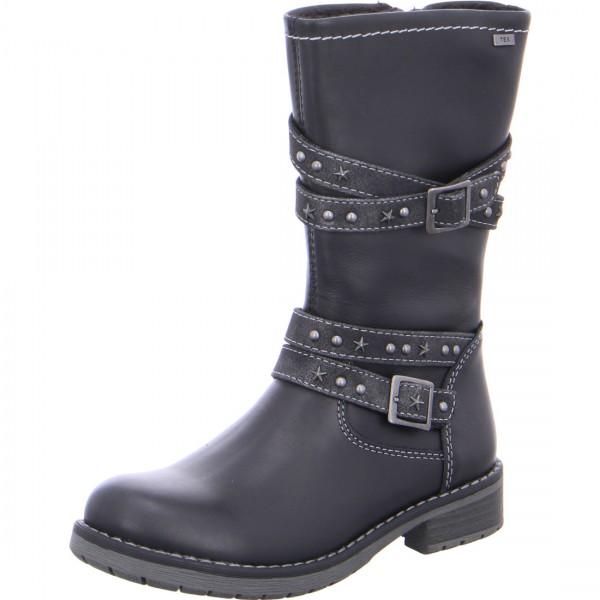 Mädchen Stiefel LARU-TEX schwarz