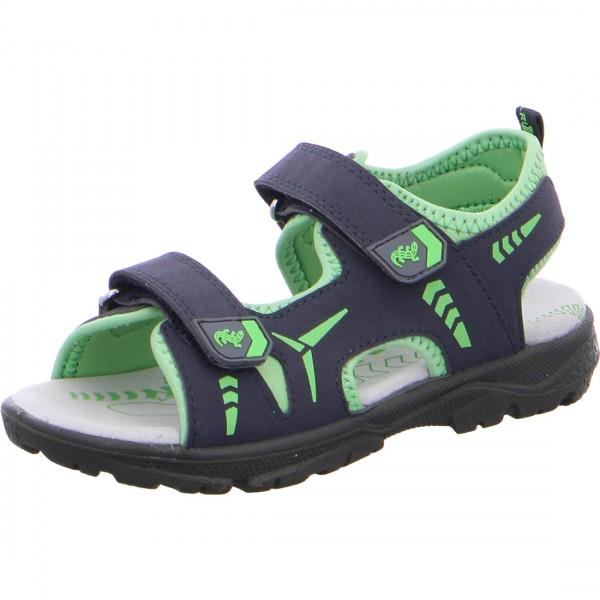 Jungen Sandale KLAUS blau-grün