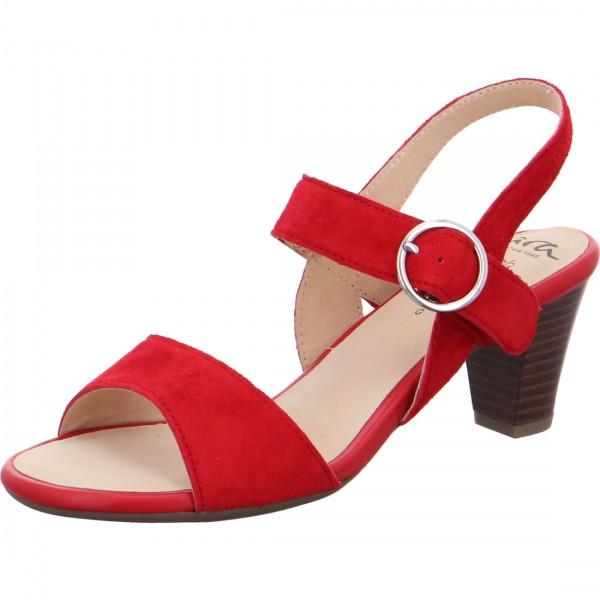 ara heeled sandal Rosso