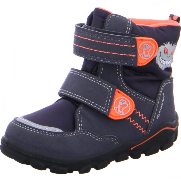 Jungen Stiefel KEV-SYMPATEX blau orange