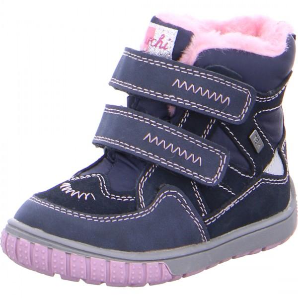 Mädchen Stiefelchen JAUFEN-TEX blau-rosa