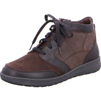 Stiefelette KLARA darkbrown