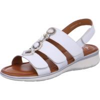 Damen Sandale Kreta weiss