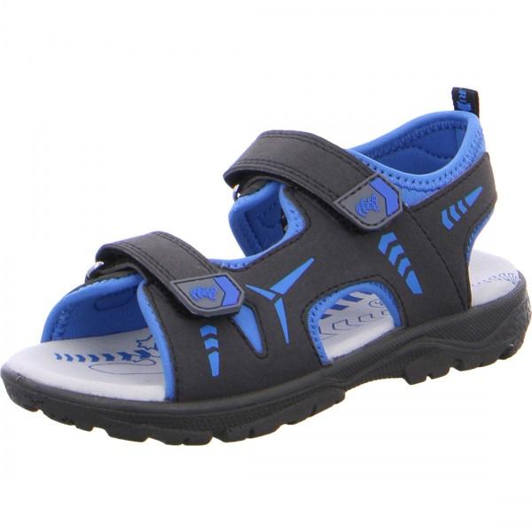 Jungen Sandale KLAUS schwarz-blau
