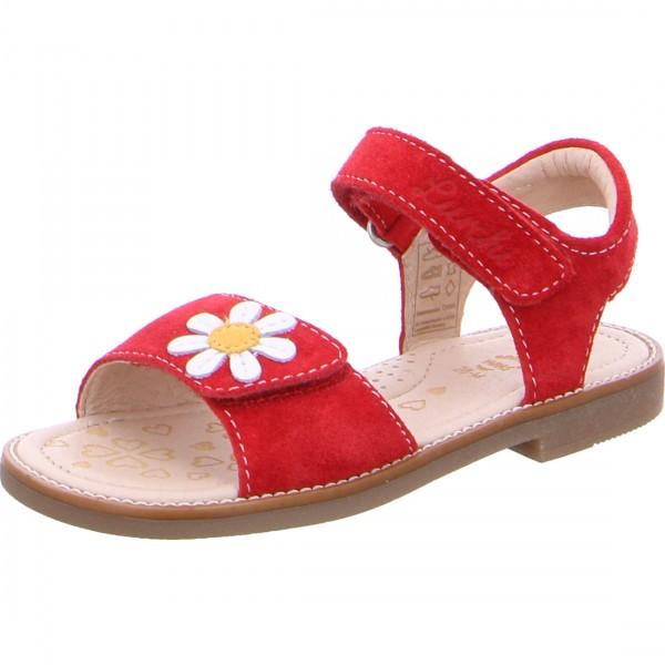 Mädchen Sandale ZENZI rot