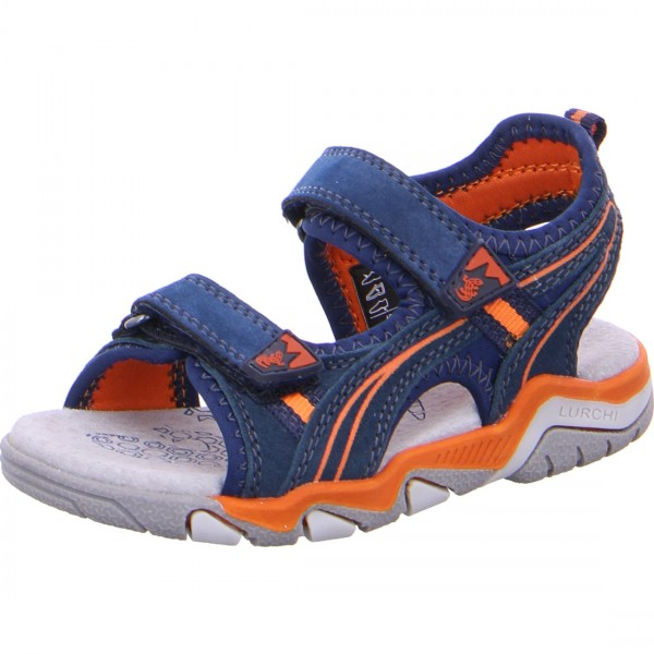 Jungen Sandale BENNET blau-orange
