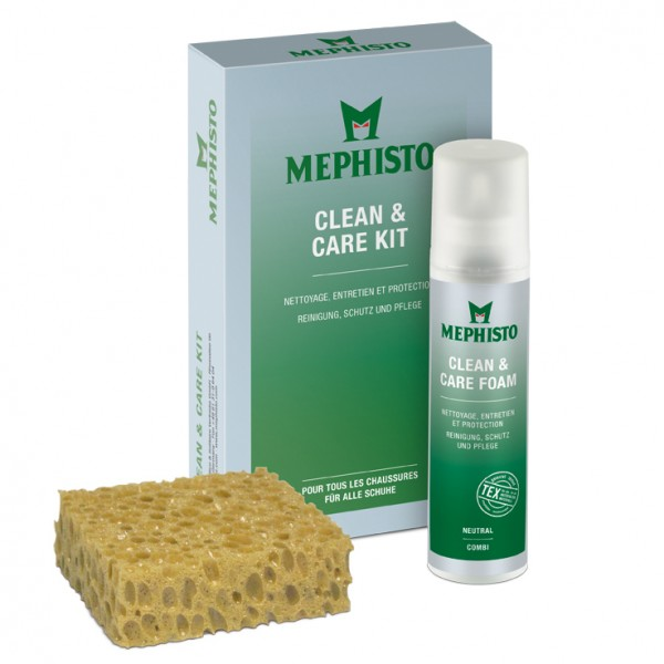 Clean & Care Kit (150 ml foam)