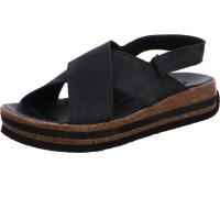 Sandale Zega schwarz