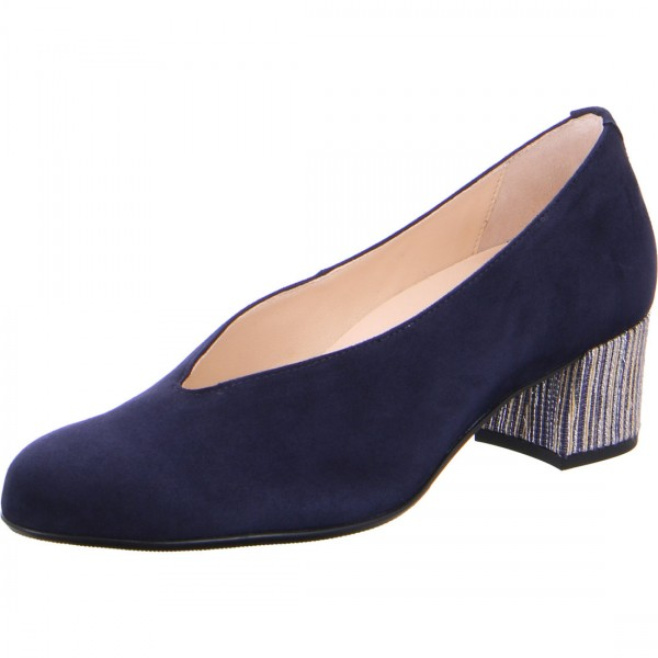 Pumps Florenz blau