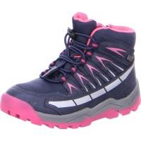 Kinder Stiefelette TRISTAN-TEX navy pink