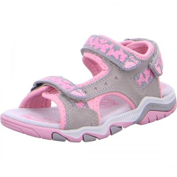 Mädchen Sandale BRIAN grau-rosa
