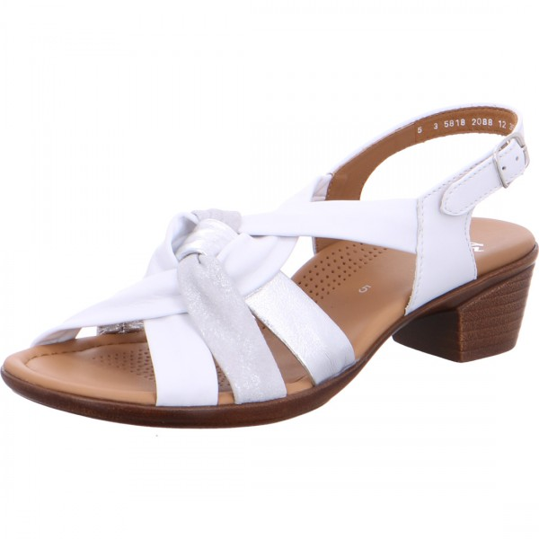 ara heeled sandals Lugano