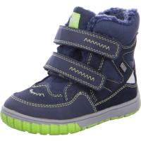 Jungen Stiefelchen JAUFEN-TEX blau-grün