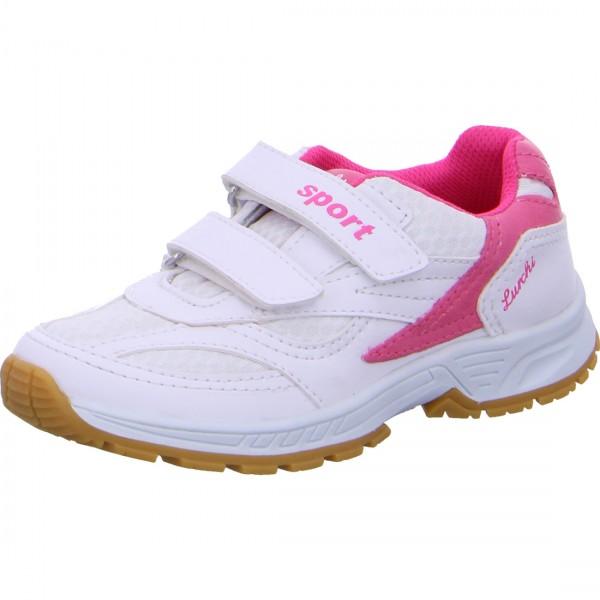 Mädchen Sneaker MATTI weiß-pink