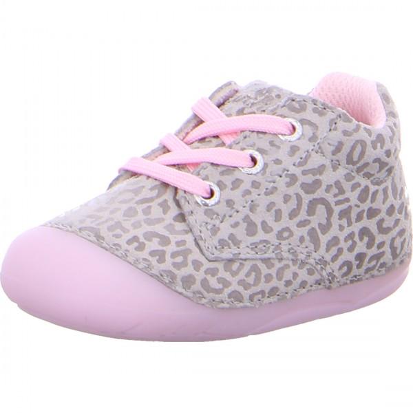Mädchen Lauflernschuh FLIA grau-rosa